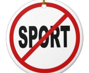 NO SPORT!!!